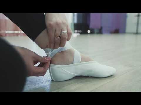 Как правильно завязывать ленты к балеткам