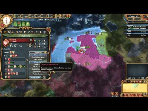 Europa Universalis IV: Latvian opening