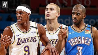 Los Angeles Lakers vs Oklahoma City Thunder - Full Highlights | January 11 | 2019-20 NBA Season