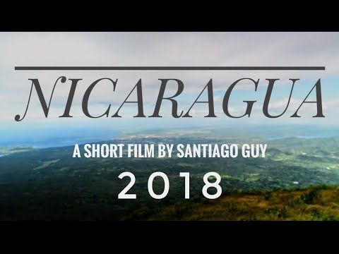 NICARAGUA 2018- TRAVEL VIDEO- Nikon D750 and Moza Air Gimbal.