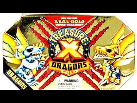 Трешер икс, золото драконов, TREASURE X, Gold Dragons