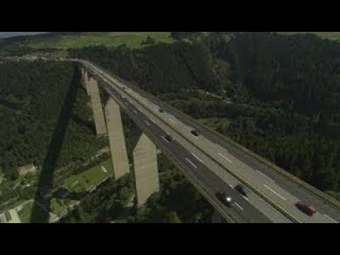 Il megaponte Europa o Europabrücke a Innsbruck