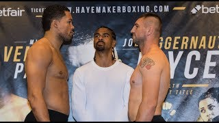 FULL WEIGH-IN: Joe Joyce Searches For Win Five | David Haye card