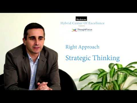IT Offshoring Done Differently, Blackstone's CoE with ThoughtFocus
