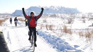 В Копейске прошел чемпионат по велокроссу
