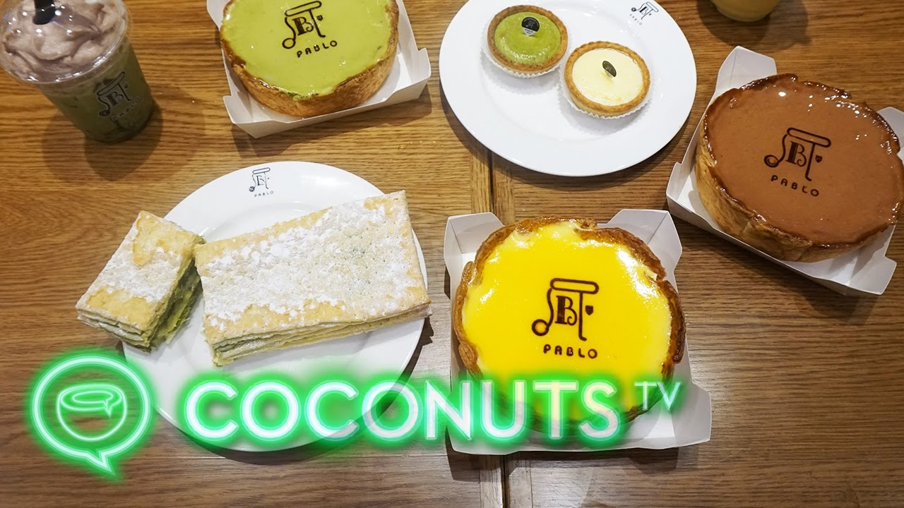 Bangkok goes nuts for Pablo cheese tarts | Coconuts TV