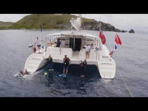 Diving with Yacht Braveheart in the Virgin Islands