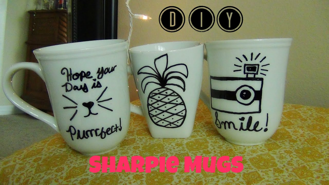 Diy Sharpie Mugs Diy Idea