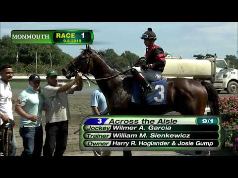 video thumbnail for MONMOUTH PARK 9-8-19 RACE 1