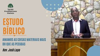 Estudo Bíblico (10/09/2020) - Igreja Presbiteriana Itatiaia