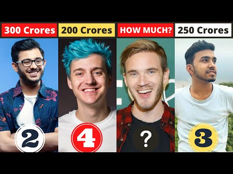 New List Of Top 10 Richest Gamers In The World | 2021
