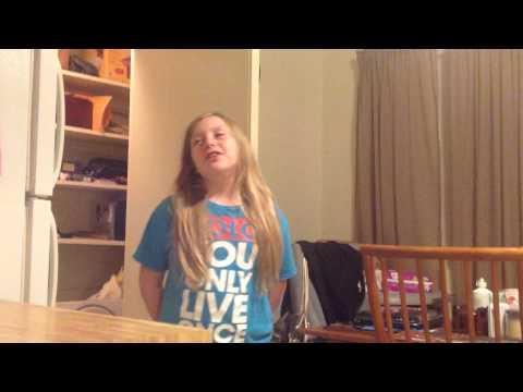 My 9 year old sings Blackbird noni beyond the lights Nina Simone.