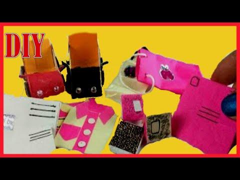Ministure DIY | 5 Cute Dollhouse  Paper craft hacks tutorial