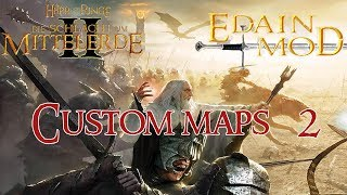 Let's Play HdR Schlacht um Mittelerde 2 Edain Mod Custom Maps #002 - Saurons Schergen