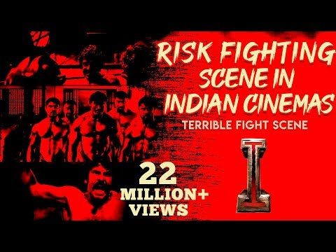 "fight scene from an indian movie called ""I"""