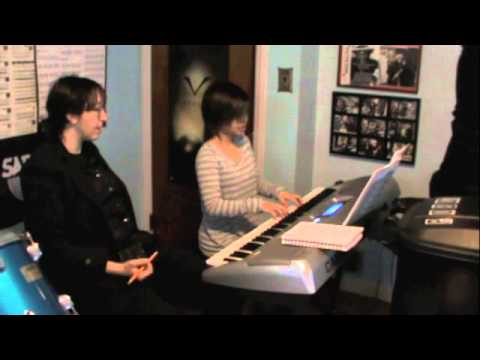 Music Teacher Caryn Feder Teaching Ear Training and Theory in Adult Beginner Piano Lesson