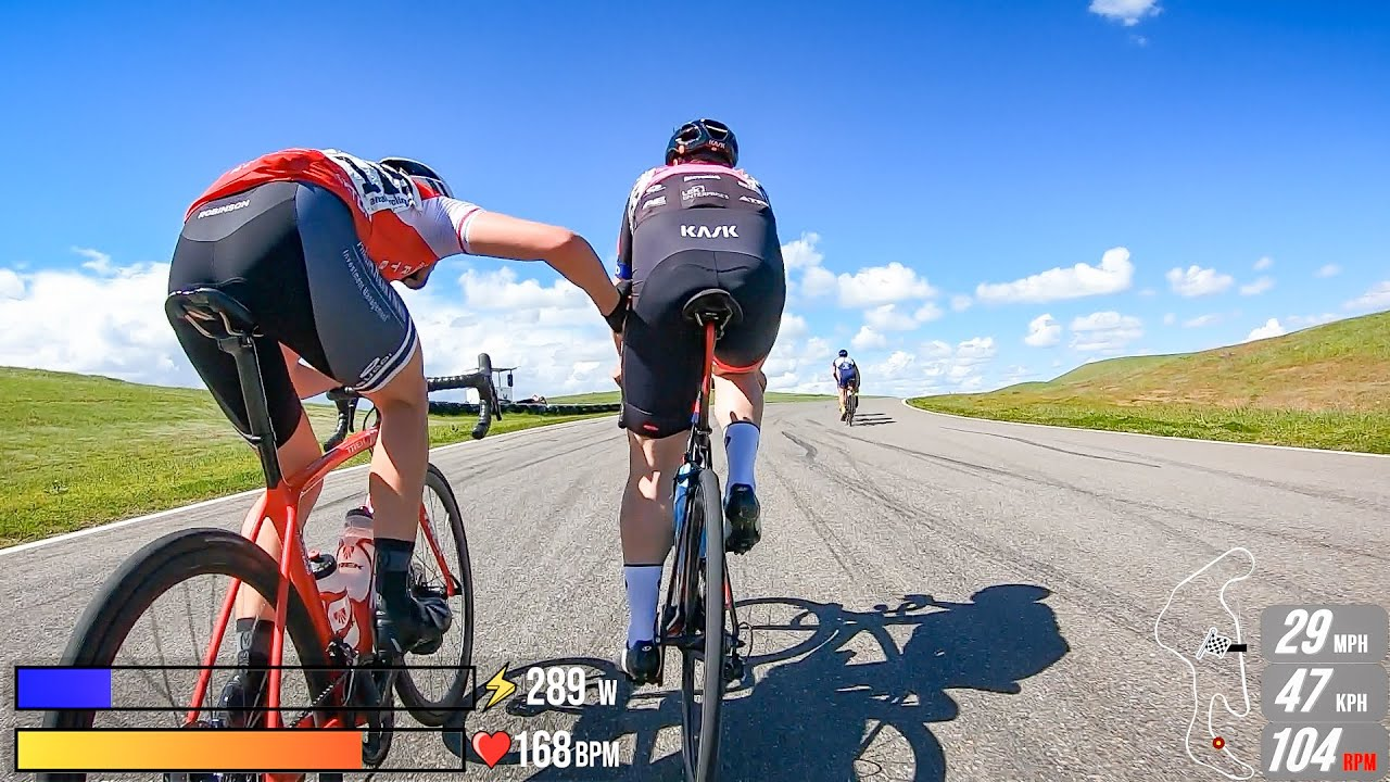 Fighting for the Green Jersey - Chico Circuit Race P/1/2