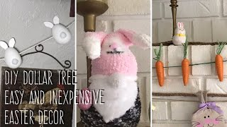 DIY Dollar Tree Easy And Inexpensive Easter Decor