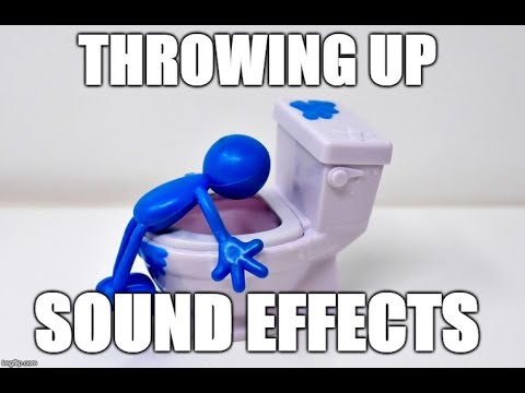 Throwing up - Sound effects