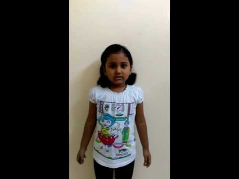 Speech on National flower(Lotus) of India by Kanishka Gupta