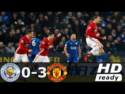 Download Leicester City vs Manchester United 0 - 3 All Goals (Premier League) 5/2/2017 HD YouTube