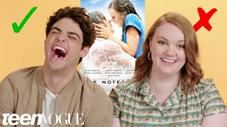 Costars Noah Centineo, Shannon Purser & Kristine Froseth Test Their Rom-Com Knowledge | Teen Vogue