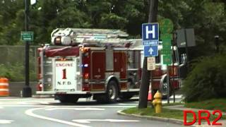 Police Cars, Fire Trucks, And Ambulances Responding Compilation - Part 2