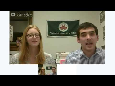 Washington University talks about applying for admission -- Hangout On Air