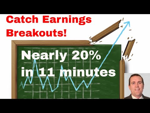 Trading Explosive Earnings Breakouts - How We Caught One of the Biggest Winners Last Week!