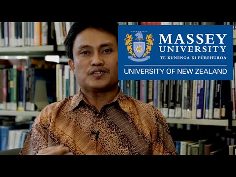 Study overseas at Massey University | Meet Bachtiar