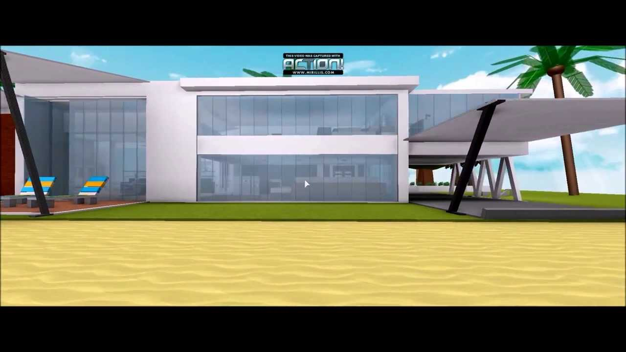 Roblox modern house - YouTube