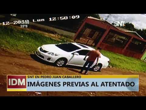 Imágenes previas al atentado a la abogada de Pavão