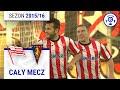 Cracovia - Pogoń Szczecin [2. połowa] sezon 2015/16 kolejka 13