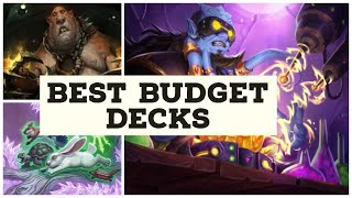 Best Budget Deck for all Classes Rise Of shadows. Hearthstone