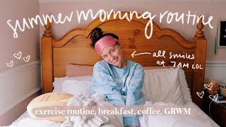 SUMMER MORNING ROUTINE 2021: my healthy & productive formula for having a good day ツ