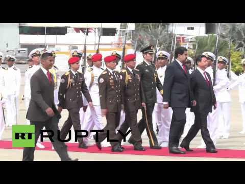 Venezuela: Xi Jinping meets Maduro for key energy deal talks