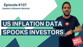 US inflation data spooks investors | Damien's Midweek Markets