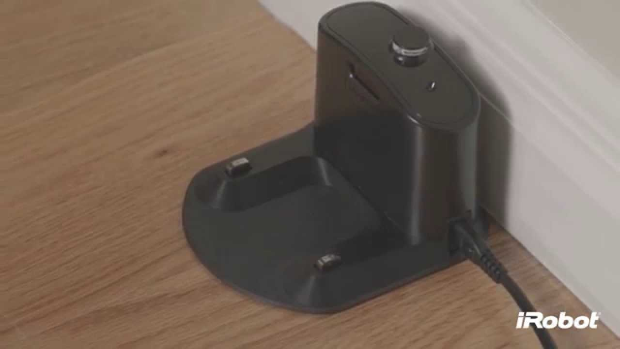 iRobot Roomba® 800 Series - How To Use the Home Base - YouTube