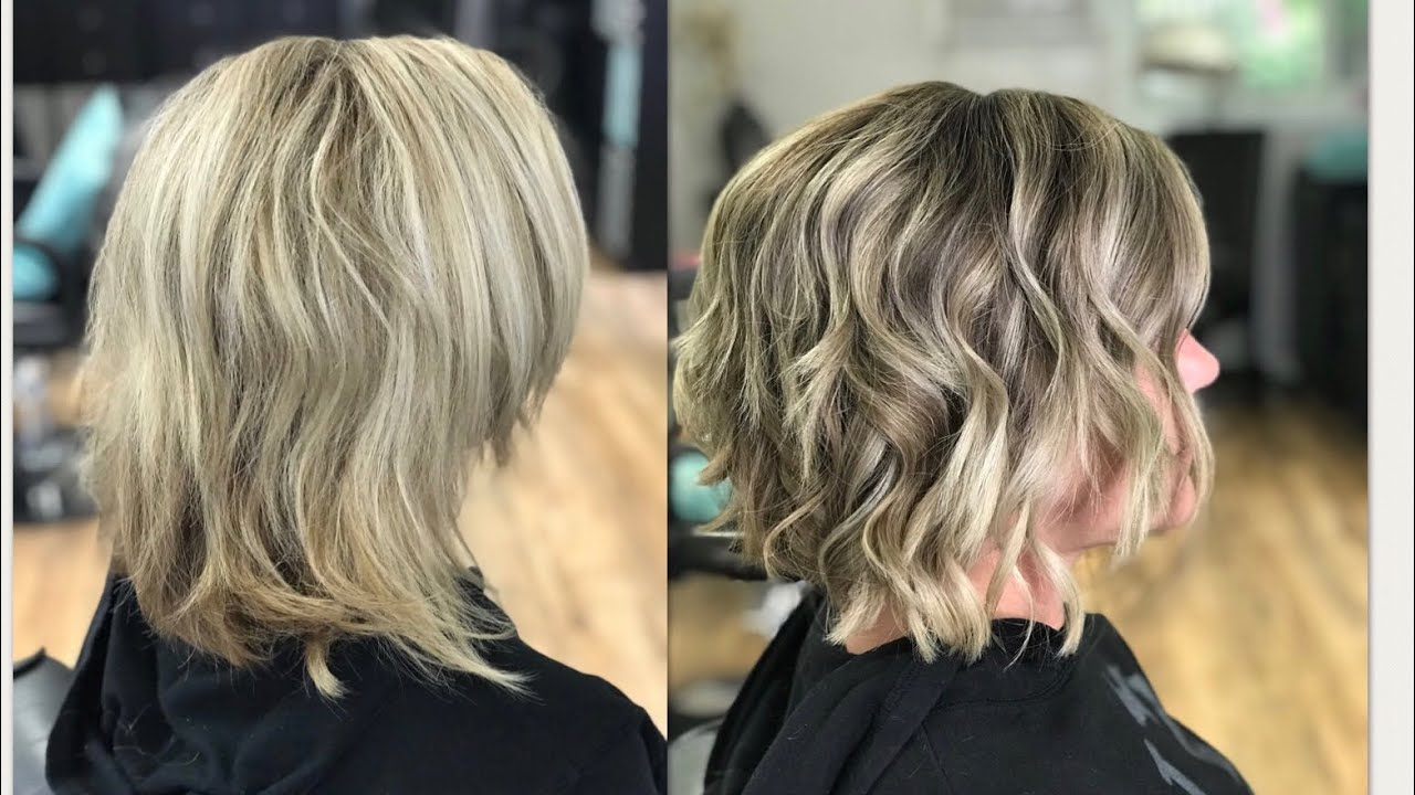 How To Do A Panel Lowlight To Break Up Blonde 2018 Youtube