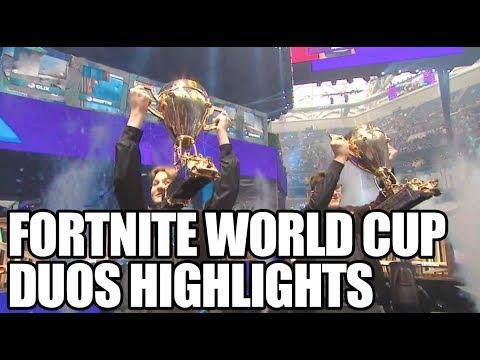 Fortnite World Cup Duos Highlights | ESPN Esport