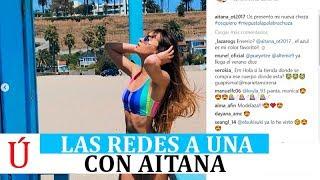 Cepeda y las redes se vuelcan con Aitana Ocaña y el Contigo Aitana Operación Triunfo 2017