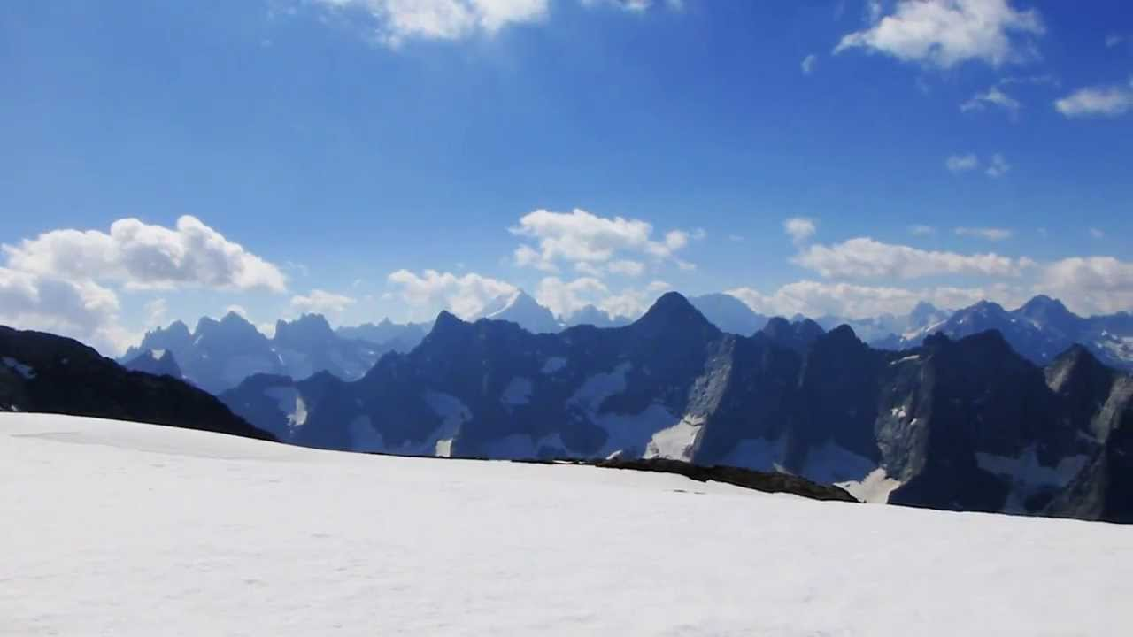 Lago Con Montañas Nevadas Hd: #12952, Gran Vista Panorámica De Montañas Nevadas 1