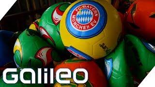 So entstehen Basket-, Fußball und Co. | Galileo | ProSieben