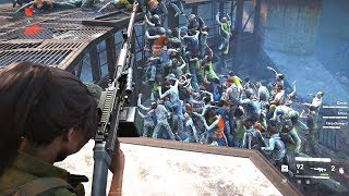 World War Z - Brutal Gameplay Moments - Hordes & Zombie Slaying - PC