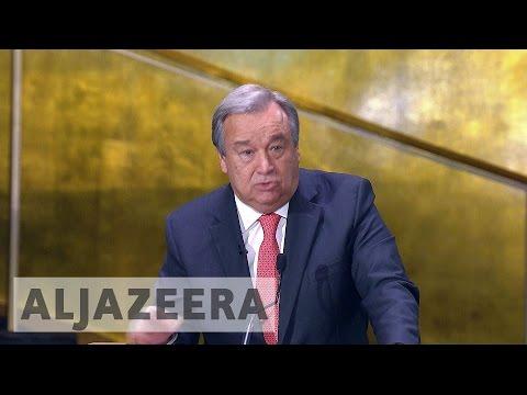 Portugal's Antonio Guterres set to take helm at UN