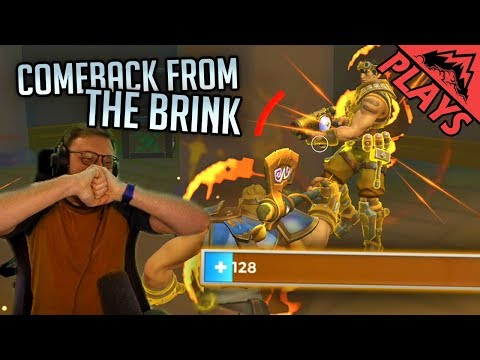 Comeback from the Brink - Realm Royale Gameplay #7 (StoneMountain64 Solo)