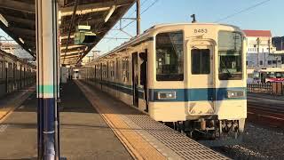 東武東上線 8000系 8183F 小川町 発