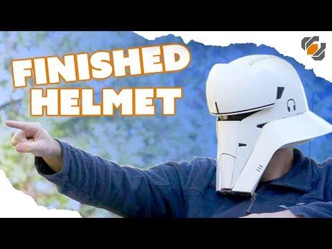 Finishing the 3D Printed Tank Trooper Helmet - Budget 3D Printer