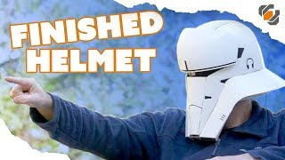 Finishing the 3D Printed Tank Trooper Helmet - Budget 3D Printer
