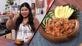 Salmon Poké Bowl  Jen Phanomrat